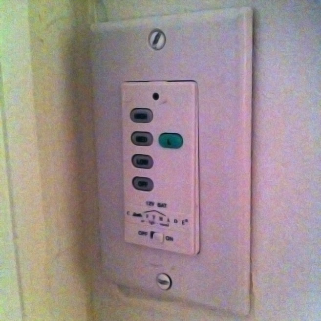 bedroom light switch